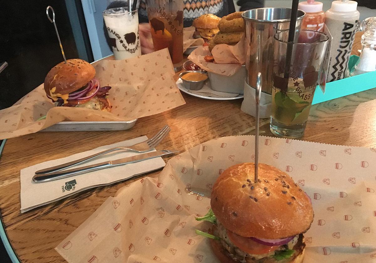 Restaurant: Bareburger in Frankfurt