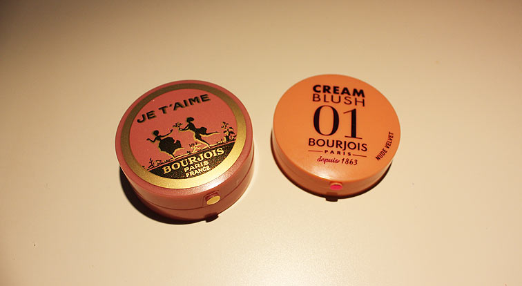 Bourjois - Cream Blush Nude Velvet vs. Blush Rose D'or 2