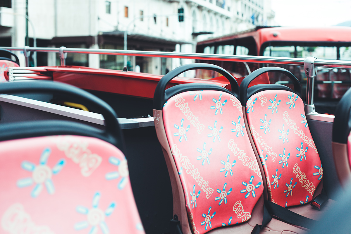 City Sight Seeing Bus Tour durch Athen