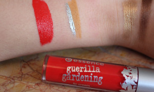 Essence – Guerilla Gardening Lip Cream Floral Glam