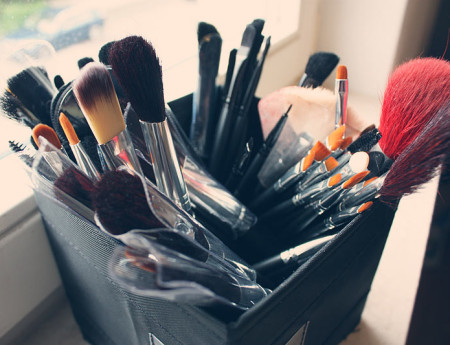 Make Up Pinsel en masse