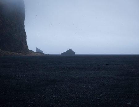 Island – Vík – Black Sand Beach