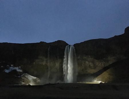 Island – Seljalandsfoss Wasserfall