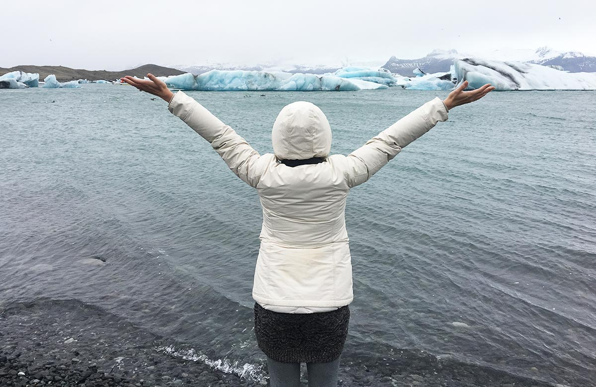 Felsen aus Eis in Island – Die Gletscherlagune Jökulsárlón