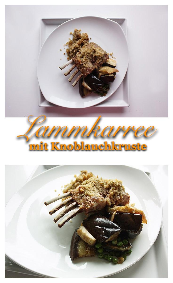 Lammkarree mit Knoblauchkräuterkruste 3