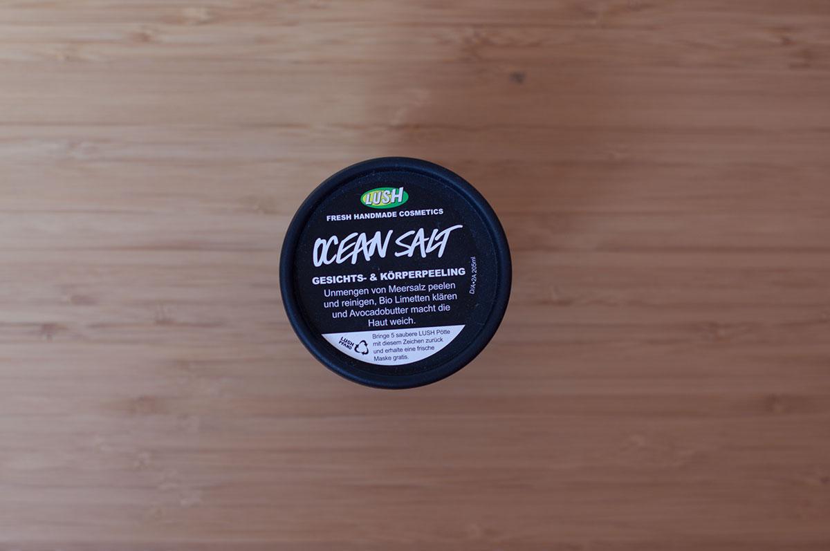 Lush Ocean Salt Gesichts und Körperpeeling (1)