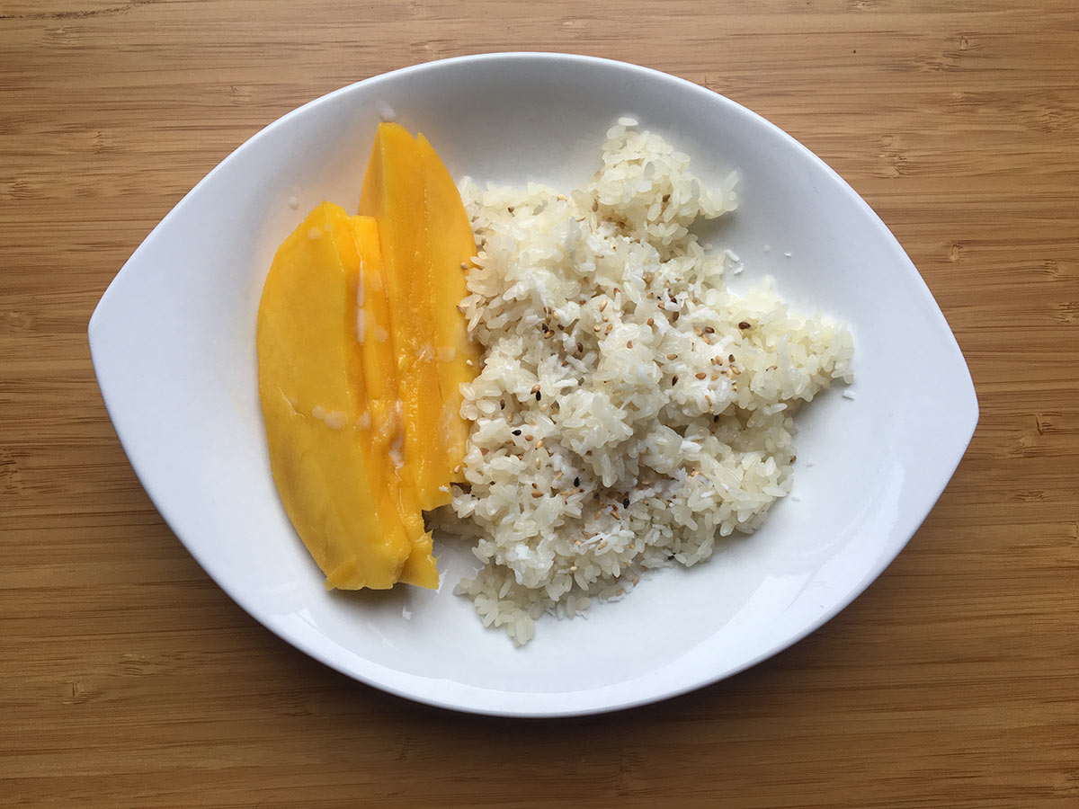 Mango Sticky Rice selber machen