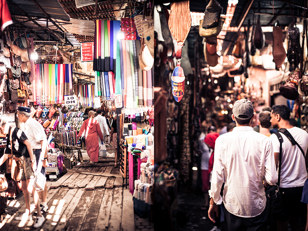 6 Must Do's bei den Souks von Marrakesch