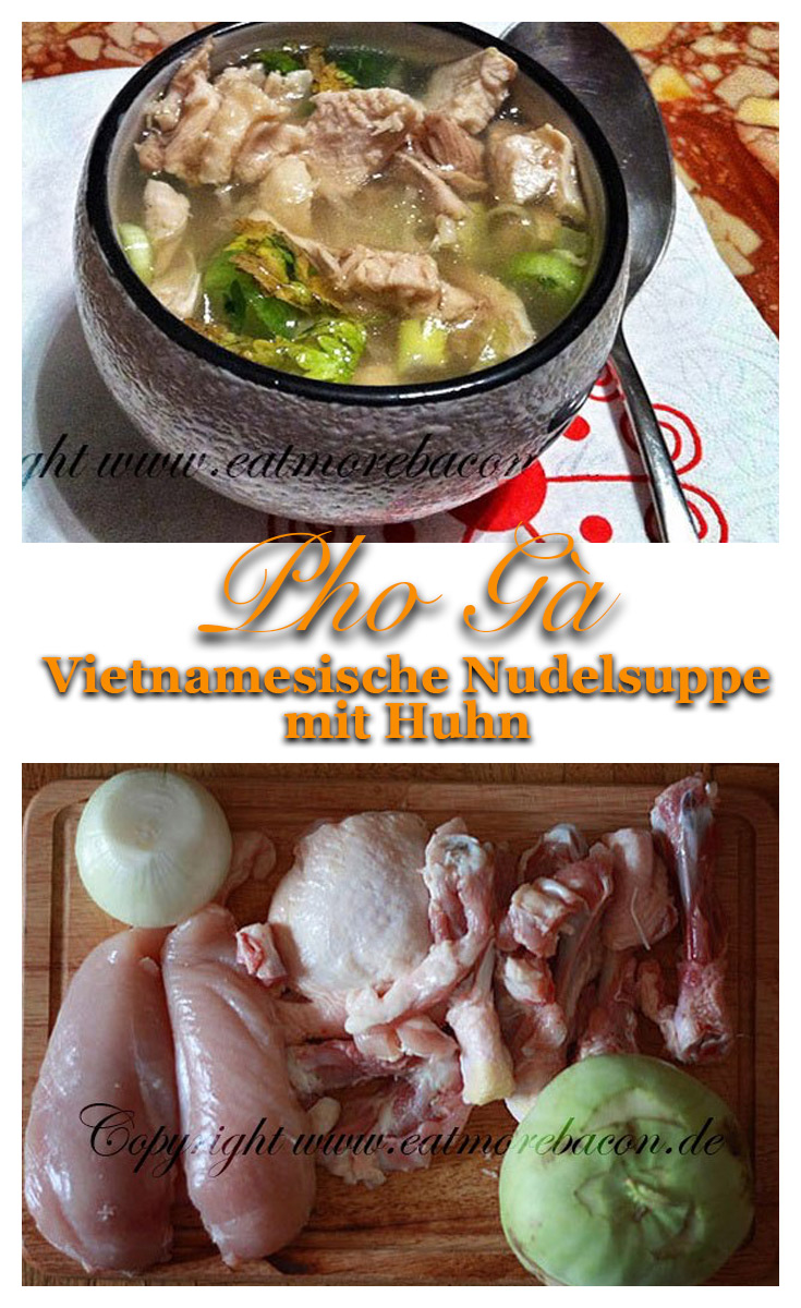 Vietnamesische Hühnernudelsuppe - Pho Ga 5