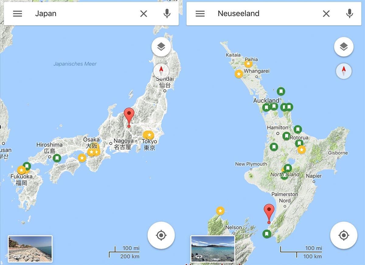 verbraucht maps datenvolumen