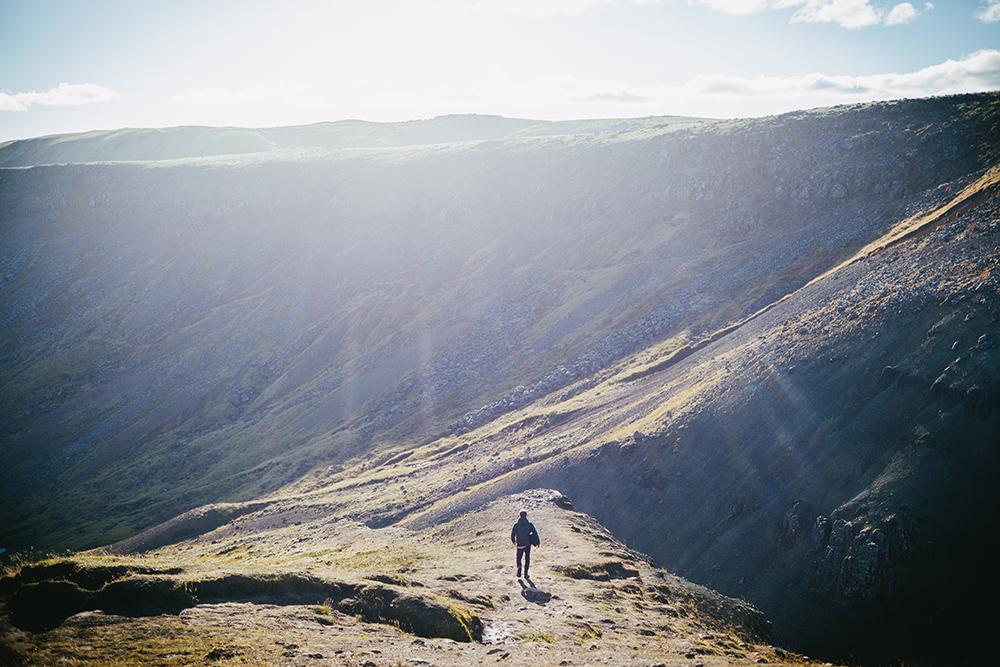Wandern und Baden im heißen Fluss: Reykjadalur