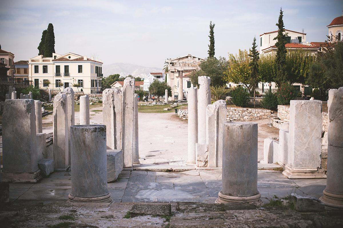 Roman Agora – Römische Agora in Athen