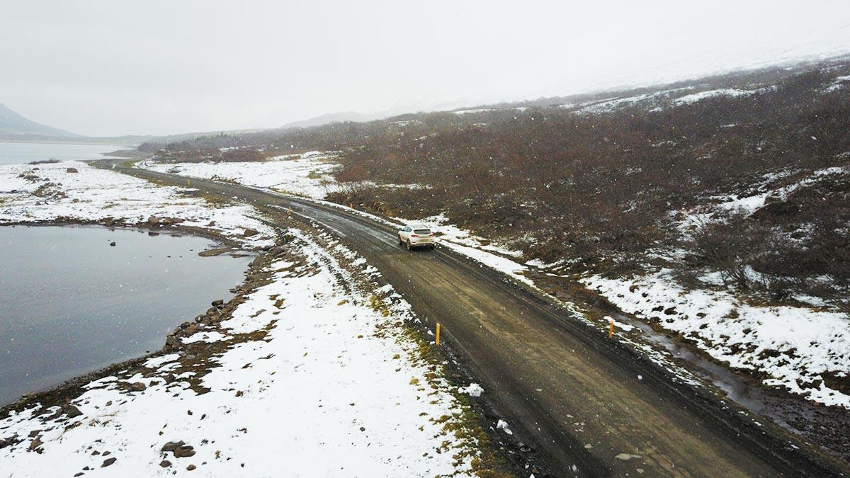Der Weg nach Seydisfjördur