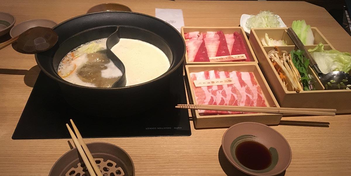 Restaurant: Shabu Shabu Onyasai in Tokyo