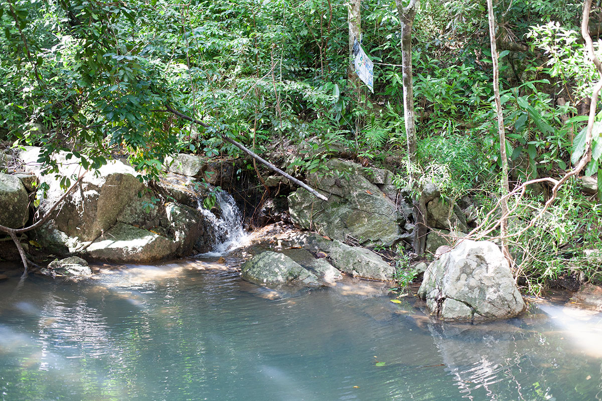 Namuang Wasserfälle auf Koh Samui