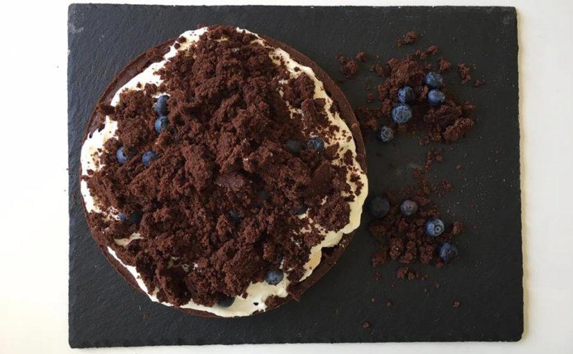 Backen: Maulwurfkuchen mit Blaubeeren selber machen
