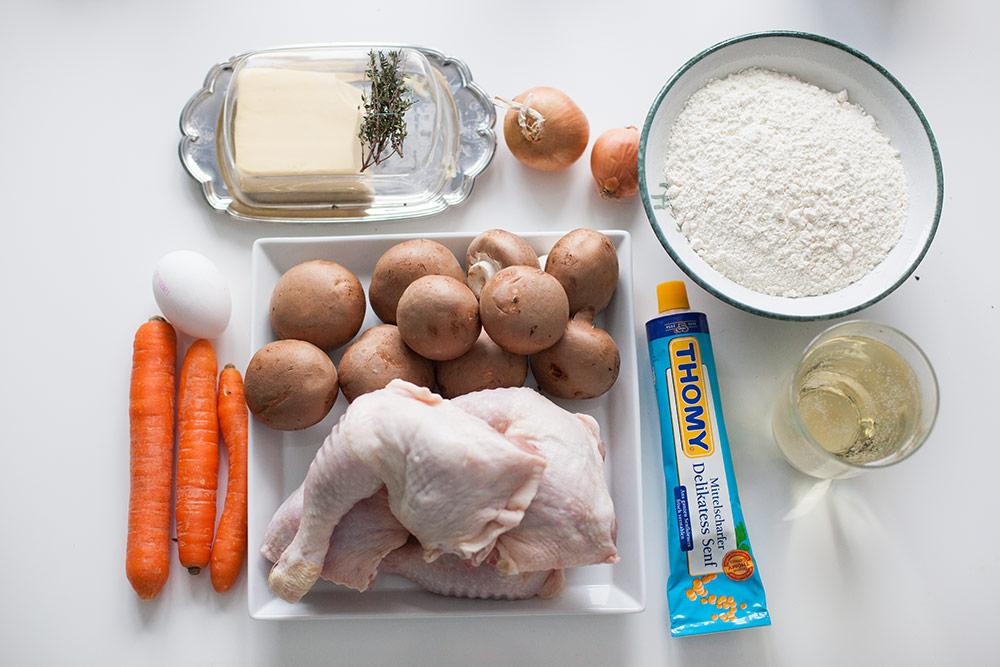hähnchen pilz pastete (2)