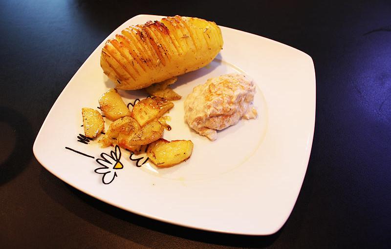 Rezept: Hasselback Kartoffeln selber machen