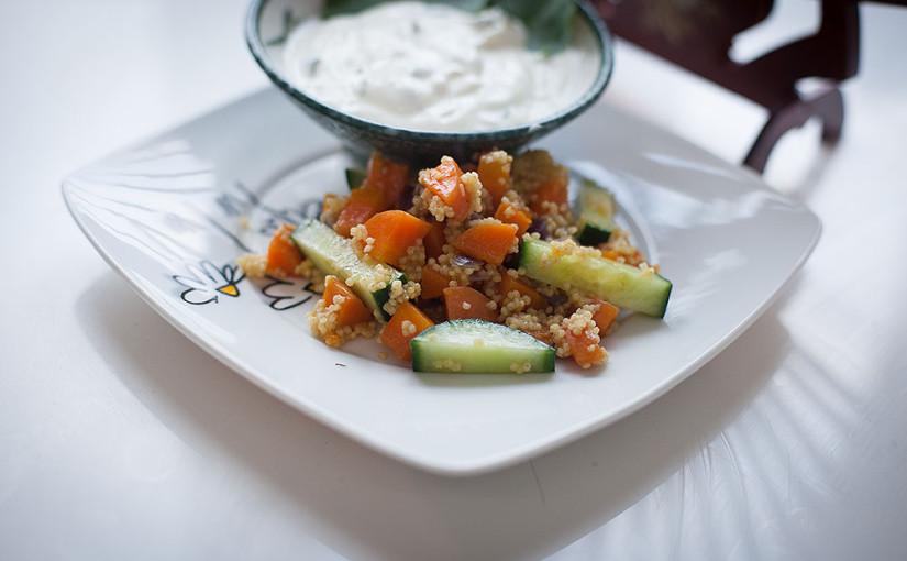 Rezept: Hirsepfanne mit Gemüse selber machen