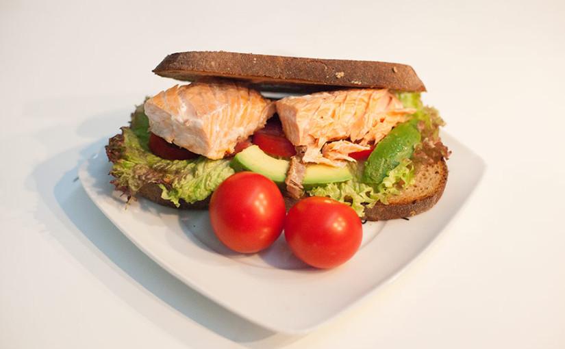 Rezept: Lachs Clubsandwich selber machen
