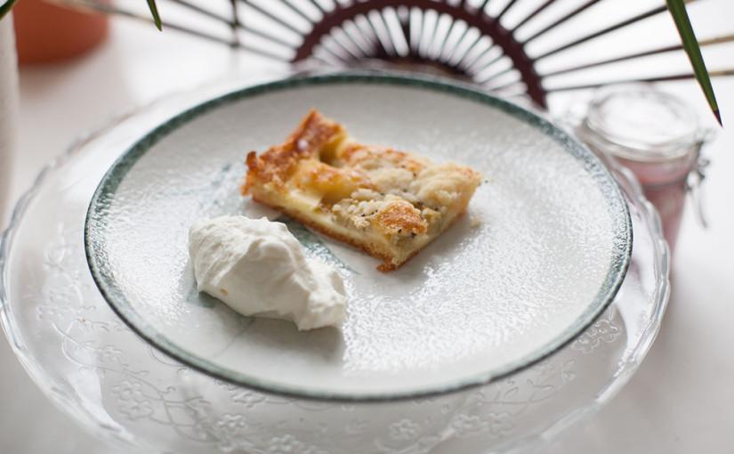 Rezept: Rhabarber Kuchen selber backen