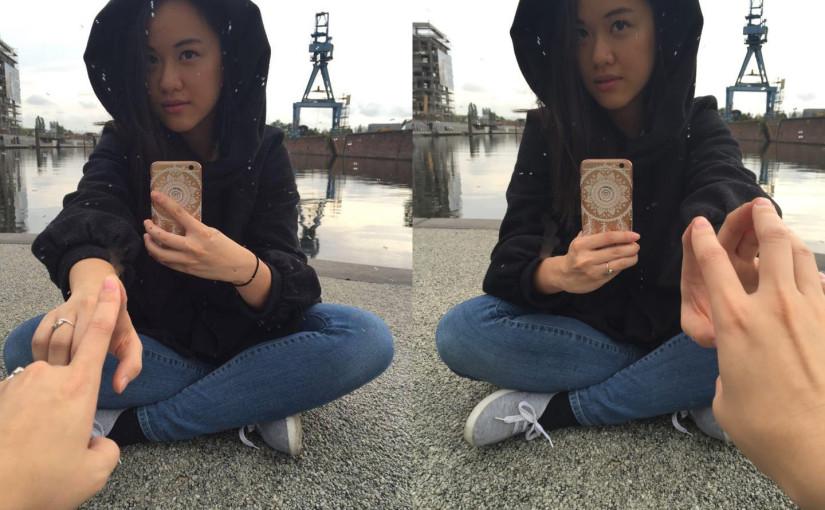 Tutorial: Special Selfie, Zwei Hände, ein Spiegel, keine Kamera / Handy